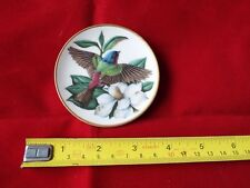 FRANKLIN PORCELAIN SONGBIRDS OF THE WORLD MINI PLATE. #7