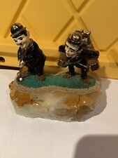 "Ron Lee Statue Figurine ""Fore"" Laurel and Hardy Signed and Numbe"