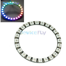 RGB LED Ring - 24X WS2812B 5050 lamp RGB LED Board with Integrated Drivers