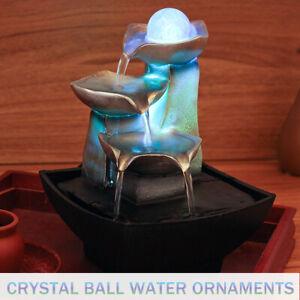 Zimmer Brunnen Springbrunnen Zierbrunnen Wasserspiel Polyresin Tischdekoration