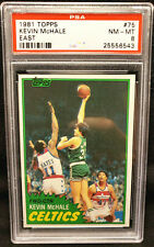 1981 Topps East #75 Kevin McHale RC PSA 8 Near Mint - Mint Rookie HOF 1981-82