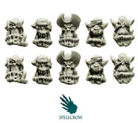 SPELLCROW Orcs Bulky Freebooters Heads BITZ ORKS KILL SQUAD TEAM COMPATIBLE PDT