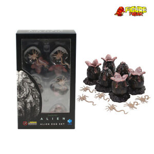 """Hiya Toys Alien Covenant Egg Set for 3.75"""" Scale Action Figure (1:18 Scale) Eggs"""