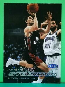 John Stockton regular card 1999-00 Fleer Ultra #32