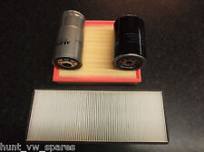 AUDI A4 1.9TDI (B5) SERVICE KIT OIL FUEL AIR POLLEN / CABIN FILTERS- AHU 1Z AHH