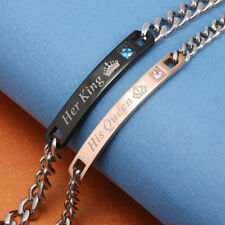 Steel Wristband Bracelet Bangle New Valentine's Day Gift Couple Lovers Stainless