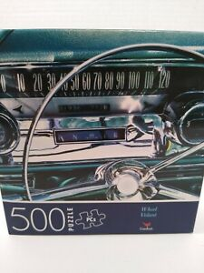 Car Wheels jigsaw puzzle 500 Christmas Dad grandpa GIFT stocking New