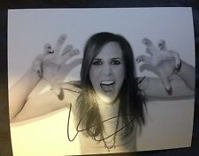 SUPER HOTTIE KRISTEN WIIG SIGNED TERRY RICHARDSON 8X10 PHOTO W/PROOF W/COA SNL