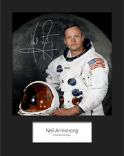 NEIL ARMSTRONG #1 Signed Photo Print 10x8 Mounted Photo Print - FREE DELIVERY