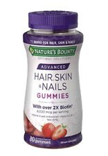 Nature's Bounty Optimal Solutions ADV Hair,Skin,Nails, 2X Biotin, Exp: 8/21
