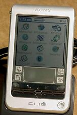 Sony Peg-T615C Clie Color Lcd Worlds Thinnest Handheld Pda Unit 16Mb Mp3 sli