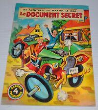Aventures de MARTIN LE MALIN No.4 BD French Comic Book Mulder
