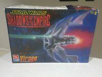 Star Wars Shadows Of The Empire Virago Scale Model Kit Ertl Brand New 1997