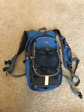 HIGH SIERRA Hiking Hydration Carrier Backpack Camping Outdoors Blue