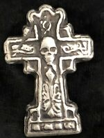 """Complete 3D Statue 2.7 tr//oz MK BarZ  /""""THORS HAMMER/"""" .999 Silver POURED Bar"""