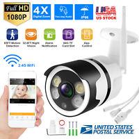1080P Security IP Camera WiFi Indoor Waterproof CCTV IR Night Motion Alert Hot