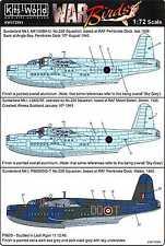 Kits World Decals 1/72 SHORT SUNDERLAND Mk.I Flying Boat Part 2