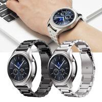 bracelet de montre bande acier inox Pour Samsung Gear S3 Classic/Frontier