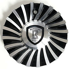 B24 Borghini Wheel Aluminum Center Cap (part # CSB24-1A)
