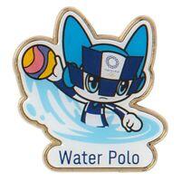 Tokyo Olympics 2020 Olympic Water Polo Pin Badge Mascot MIRAITOWA JAPAN