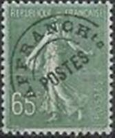 "FRANCE STAMP TIMBRE PREOBLITERE N° 49 "" SEMEUSE 65c OLIVE "" NEUF xx TTB"