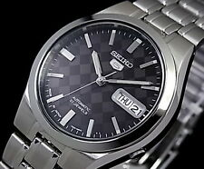 Seiko 5 Men's SNKG13J1 Stainless Steel Automatic 21 Jewels Watch Made In Japan