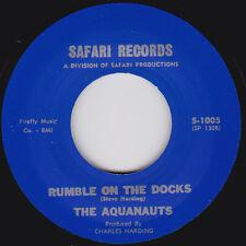 The Aquanauts - Rumble On The Docks / Bombora - Safari  RE Surf, instro Hear it.