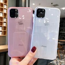 Caja de cristal claro para iPhone XS 6 6s 8 7 X Plus Shockproof Cubierta Protectora
