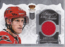 13-14 Crown Royale Jared Staal Jersey Heirs To The Throne 2013