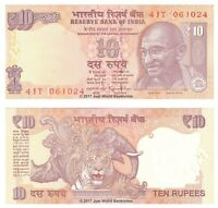 India 10 Rupees 2015  P-102i  Banknotes  UNC