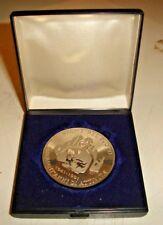 medaglia 50 ANNI DI ATTIVITA' VIGILI DEL FUOCO 1941/1981 inc. BEDETTI in AG