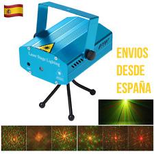 Proyector Láser Discoteca Fiestas Sensor RGB