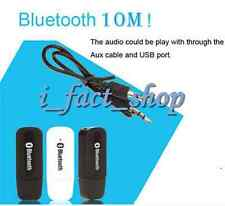Wireless Dongle  USB Car Bluetooth Stereo Music Receiver Adapter Device 3.5mm UK