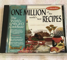 Easy Chef's One Million of the World's Best Recipes Cd Rom (Ln-Mint) (5)