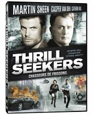 NEW DVD // THRILL SEEKERS -  Martin Sheen, Casper Van Dien, Catherine Bell