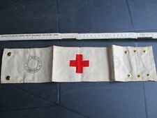 Armbinde Rotes Kreuz, St. Johns GB, WW2, Sanitäter,