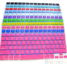 Silicone Keyboard Skin Cover For Apple Macbook Pro MAC 13 15 17 Air 13 B94U Pop