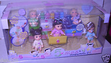 #8356 RARE NRFB MGA Entertainment 5sies Changing Table with Dolls