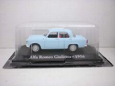 COCHE ALFA ROMEO GIULIETTA 1956 1:43 METAL CAR SEAT MINIATURA ITALIA ITALY
