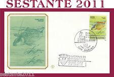 SAN MARINO, FDC FILAGRANO , 11/9/1985  CAMPIONATI MONDIALI DI PESCA  (22)