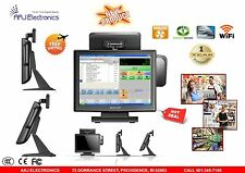 "15"" All In One Touch Screen Pos System Restaurant/ Retail Point Of Sale"