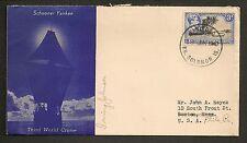 Schooner Yankee Third World Cruise - 1940 Solomon Islands Signed Irving Johnson