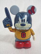 "Disney Vinylmation Mascot Varsity GOOFY 3"" Figure With #1 Foam Finger Hand"
