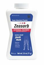 3 Pack Zeasorb-Af Antifungal Jock Itch Super Absorbant Powder 2.5 oz (71 G) Each