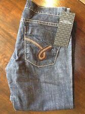 James Jeans (Dublin tressés) Femme Bleu Boot Cut Jeans 25' 35L