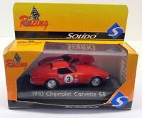 Solido 1/43 Scale Diecast - 1910 Chevrolet Corvette 1968 Red