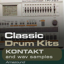 3200 CLASSIC DRUM SAMPLES KONTAKT NKI + WAV SAMPLES HIP HOP TRAP EDM MAC PC MPC