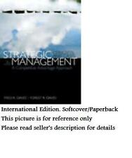 Strategic Management: Concepts and Cases 15E by David