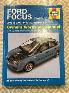 Ford Focus Diesel 2005-2009 Haynes manual