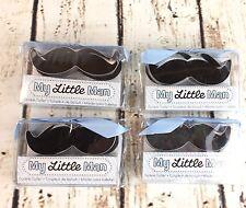 My Little Man Mustache Cookie Cutter Lot of 4 Kate Aspen Cookie Cutter Mold